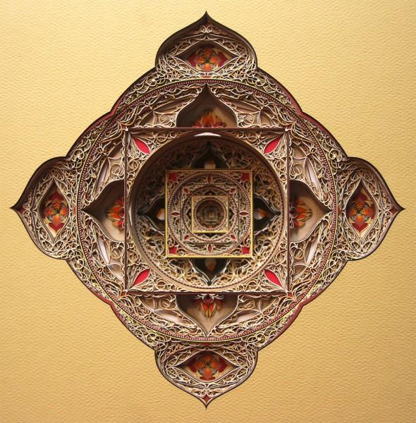 Eric Standley geometric paper cuts