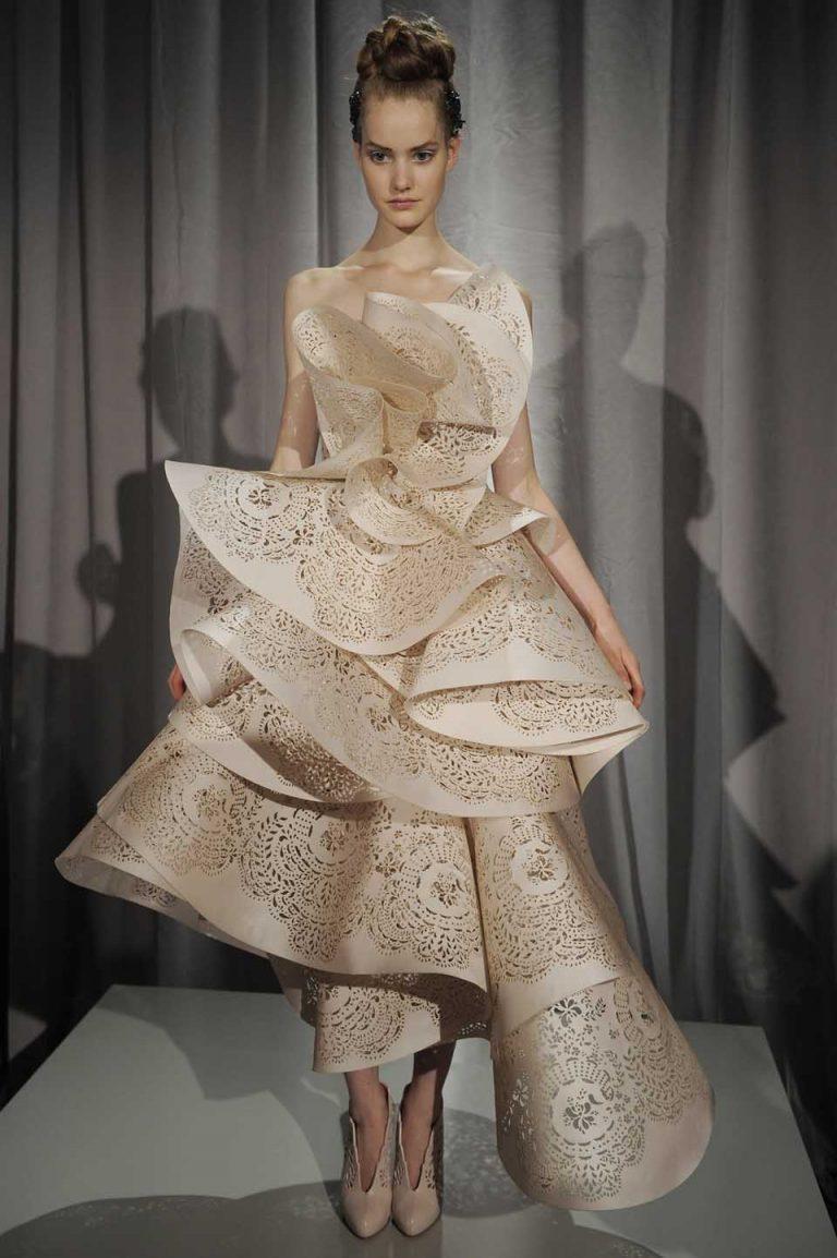Gorgeous laser cut fashion