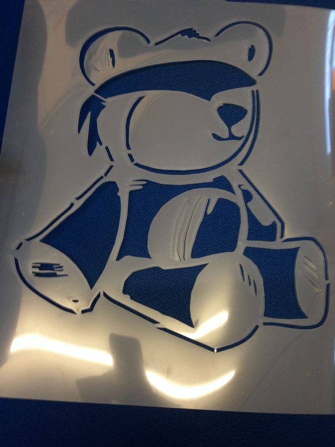 Laser cut stencils