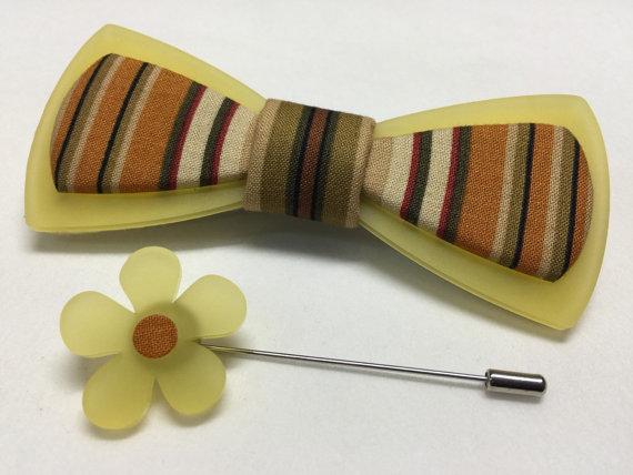 laser cut bow tie