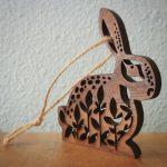 lazer cut christmas ornament