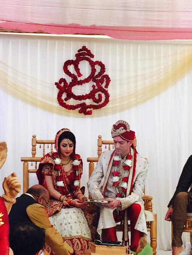 laser cut ganesh wedding
