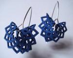 laser cut felt earrings